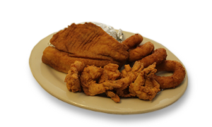 Fried Tilapia and Jumbo Shrimp
