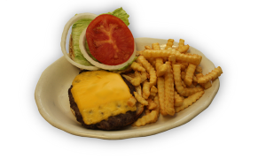 Cheeseburger and Fries