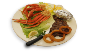 Steak and Crab Legs